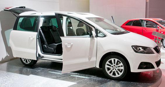 Seat Alhambra Car Model