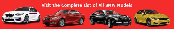BMW Models List
