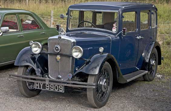 Morris Ten car model