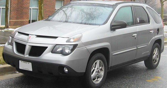 Pontiac Aztek Car Model