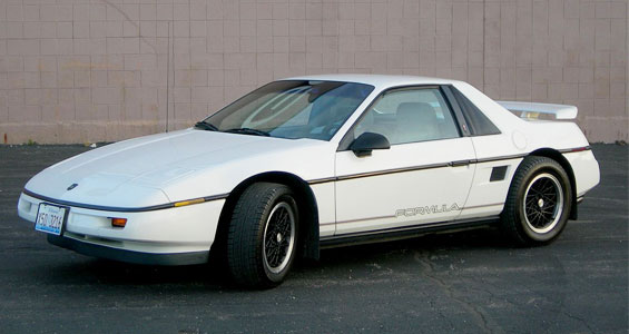 Pontiac Fiero Car Model