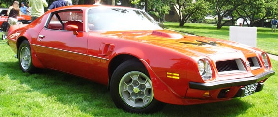 Pontiac Firebird Car Model