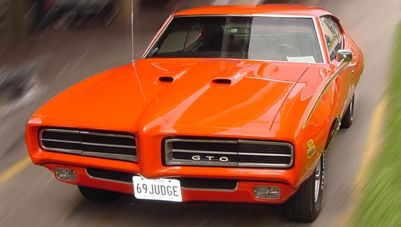 Pontiac GTO car model