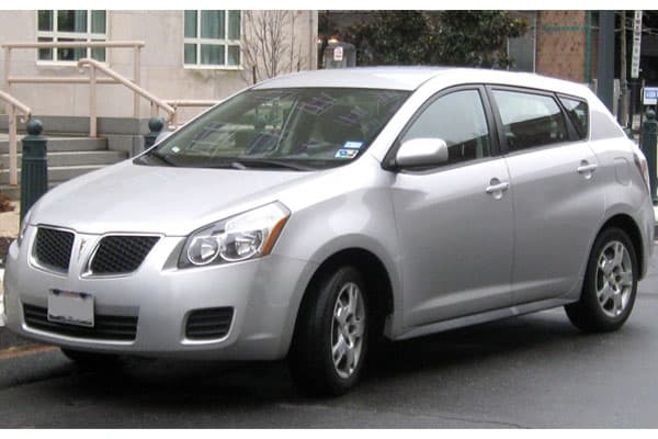 Pontiac Vibe Car Model