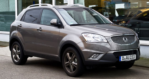SsangYong Korando car model