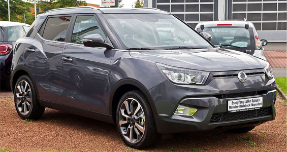 SsangYong Tivoli car model review