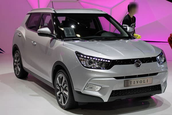 SsangYong Tivoli Car Model