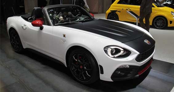 Abarth 124 Spider car model