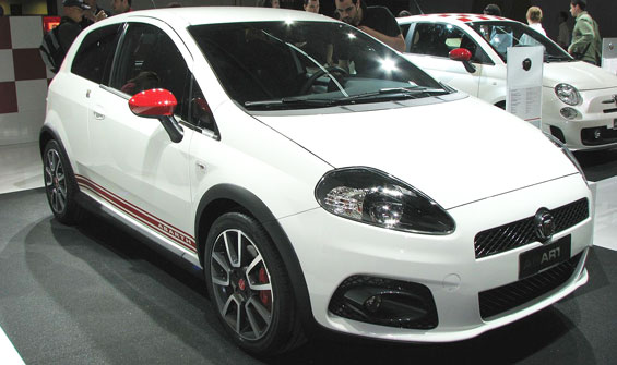 Abarth Grande Punto Car Model