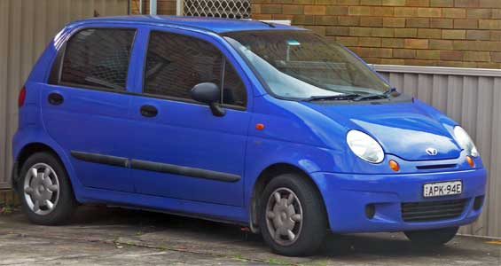 Daewoo Matiz car model