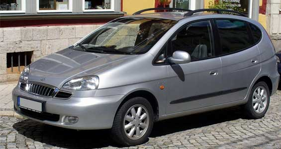 Daewoo Tacuma car model