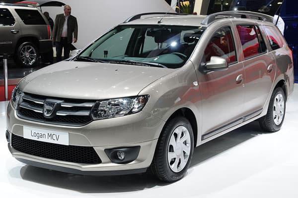2014 Dacia Logan MCV Car Model