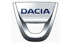Dacia Official Logo of the Company