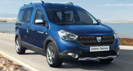dacia dokker stepway car model