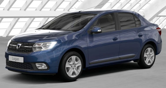 dacia logan car model