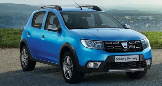 dacia sandero stepway car model