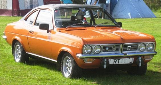 Vauxhall Firenza car model