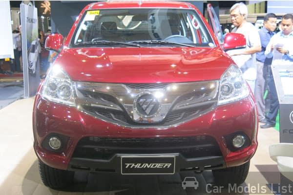 Foton Thunder car model