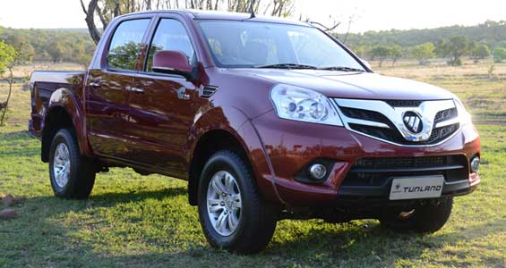 foton tunland car model
