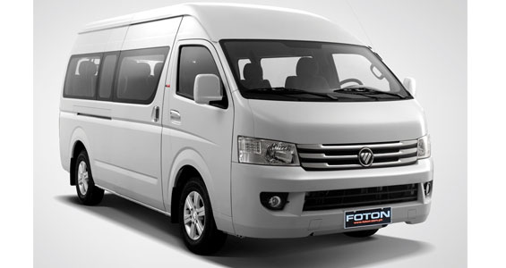 foton view traveller car model