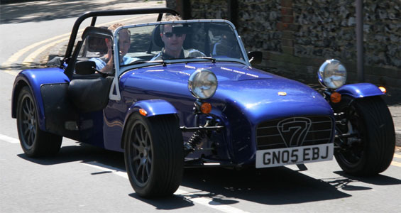 Caterham 7 Roadsport car model