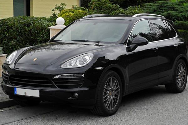 Porsche Cayenne Wagon Car Model