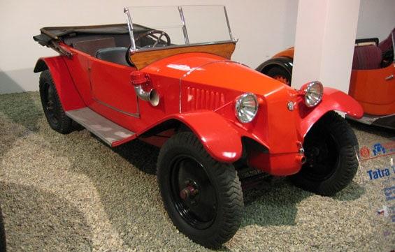 Tatra T11 car model
