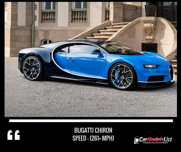 Bugatti Chiron (261+-mph)