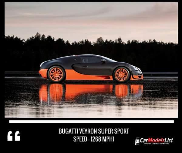 Bugatti Veyron Super Sport (268-mph)