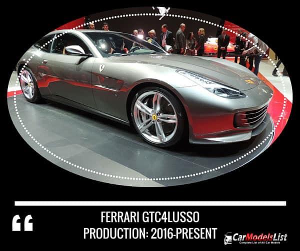 Ferrari GTC4Lusso 2016 present