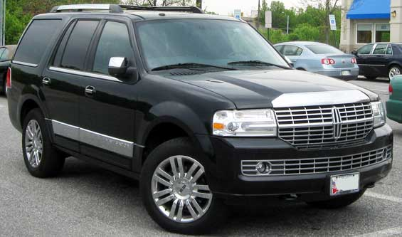 Lincoln Navigator car model