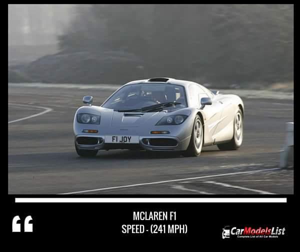 McLaren F1 (241-mph)