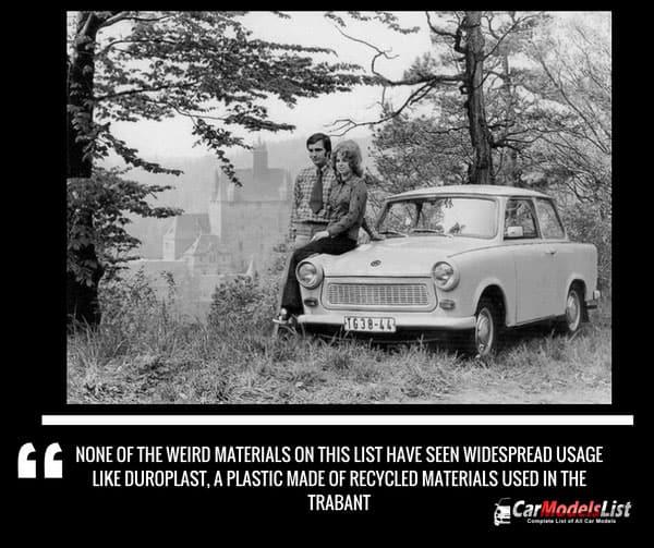 Duroplast in trabant car model