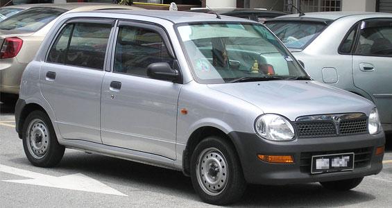 Perodua Kelisa Car Model