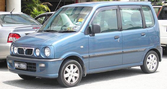 Perodua Kenari Car model
