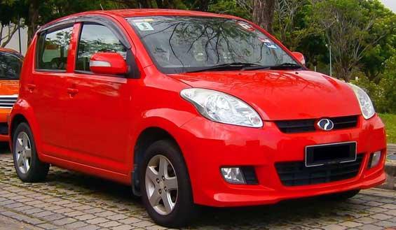 Perodua Myvi EZi car model