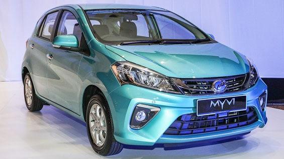 Perodua Myvi car model