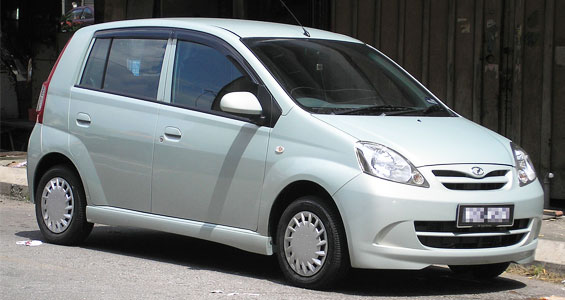 Perodua Viva car model