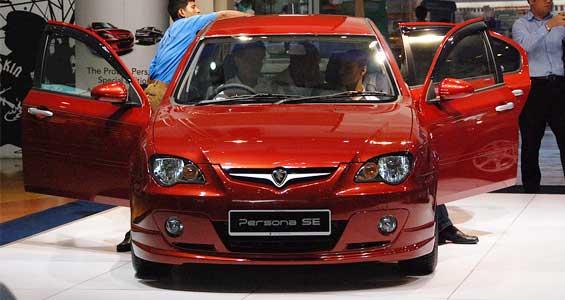 Proton Persona car model