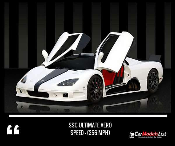 SSC Ultimate Aero (256-mph)