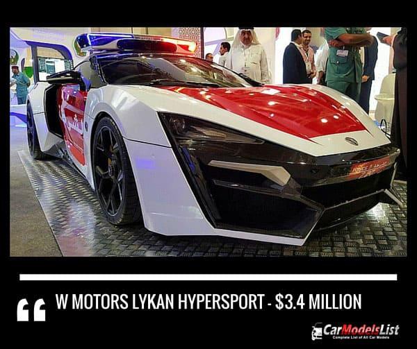 W-Motors Lykan Hypersport