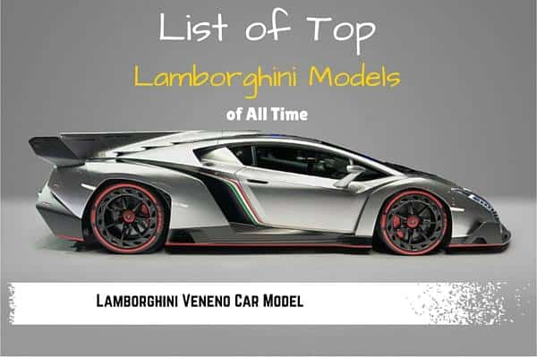 Complete List Of All Types Of Cars Car Models List