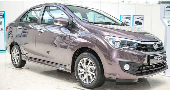 Perodua Bezza car model review