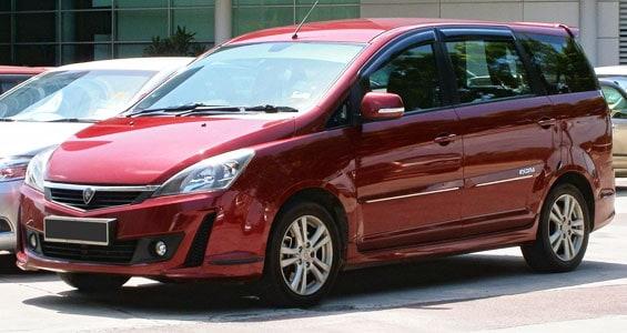 proton exora car model