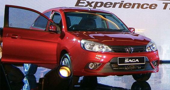 Proton Saga car model