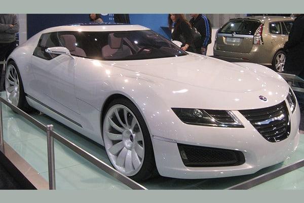 Saab Aero-X car model