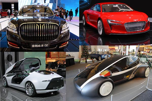 complete list of Concept cars
