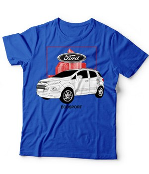 Original Ford Ecosport Car Model Shirt