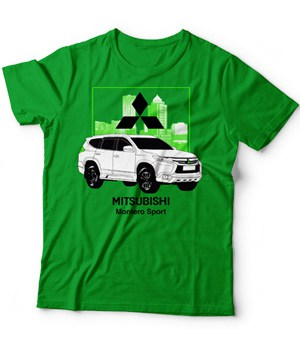 Original Mitsubishi Montero Sport Car Model Shirt