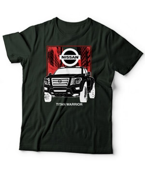 Original Nissan Titan Warrior Car Model Shirt